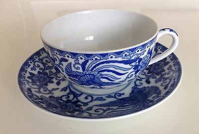 Collectable Neritaki Japanese cup and saucer