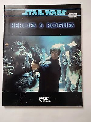 West End Games Star Wars Role-Playing Game Heroes & Rogues