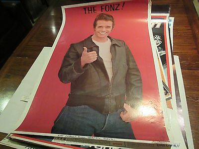 "The Fonz , POSTER , 23"" X 35"" , 1976"