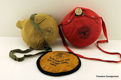 Vintage Boy Scouts of America Mess Kit, Canteen