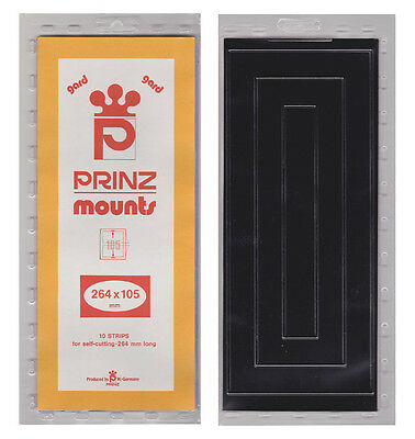 Prinz Mounts - #105- X  264Mm - Black              Free Shipping      #Pzmt-105B