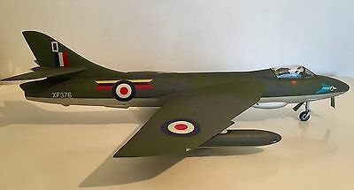 Large Scale Model Aircraft. Plastic. Hawker Hunter Jet