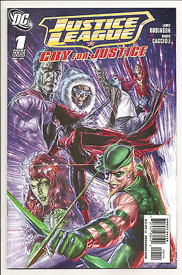 Justice League Cry for Justice Lot #1-7 (2009) NM