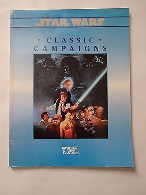 Star Wars RPG West End Games Classic Campaigns