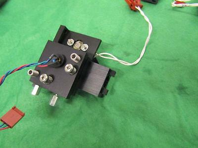 Aiming Laser Module On Adjustable Mount With Filter Switcher Solenoid.
