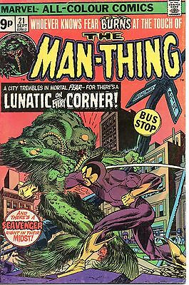 MAN-THING vol.1 #21 22 £3.00 for lot & p&p