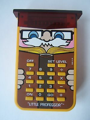 Texas Instruments Little Professor Vintage Calculator Learning Aid 1978 TI Works