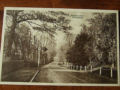 Wokingham, near  Bracknell Reading, Reading Road, old postcard, G Condition