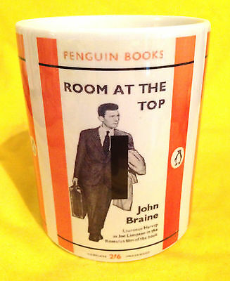 Penguin Book Cover-Room At The Top-John Braine -On A  Mug