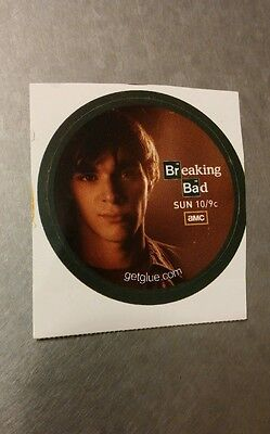 "Breaking Bad Walter White Jr Face Shadow Tv Small 1.5"" Getglue Get Glue Sticker"