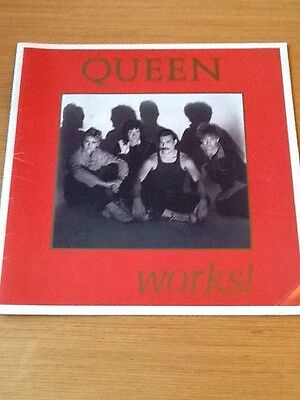 queen tour programme The Works 1984