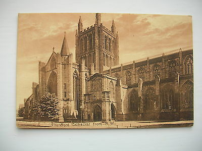 Hereford Cathedral. (early 1900s)