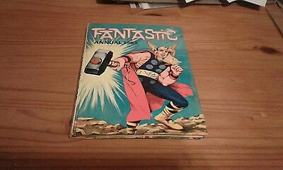 UK Marvel Annual Fantastic 1968 Power Odhams Kirby Ditko Thor X-Men Iron Man