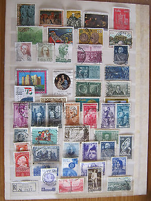 Small Collection of Italian Stamps