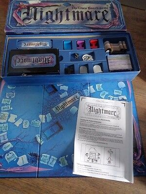 Nightmare The Video Board Game