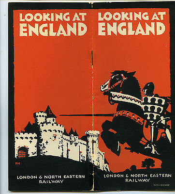 London and North Eastern railway looking at England Booklet + Route map 55 pages