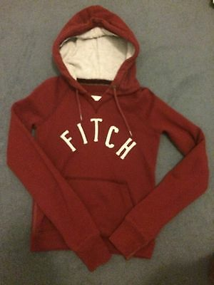 Abercrombie & Fitch Xs Hoody Sweatshirt Top Jumper Girls