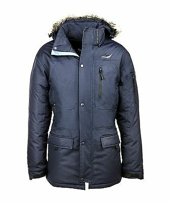 Cavallo Aron Mens Waterproof Parka Brown Or Blue *clearance*