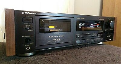 Rare Pioneer CT-777 Reference Dual Capstan Cassette Deck Near Mint