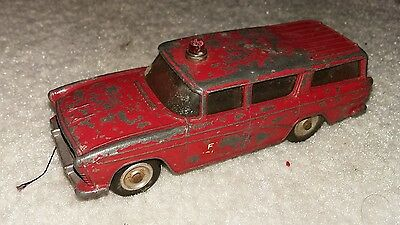 Dinky toys fire chief car engine nash rambler