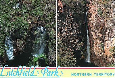 Australia  -  Litchfield-Nationalpark - Florence Falls and Tolmer Falls  -  1997