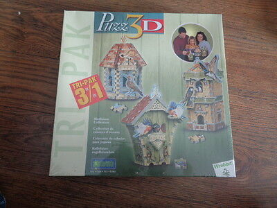 Wrebbit 3D Puzzle - Birdhouse Collection - NEW SEALED