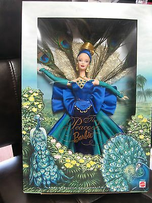 Barbie The Peacock - Birds of Beauty Collection - 1st in Series 1998 MIB