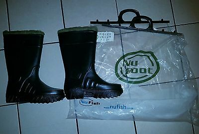Nufish derri Thermal boots fishing brand new size 7