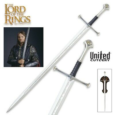 Lord Of The Rings UC1380 Elven Reforged Anduril Sword King Of Elessar Aragorn