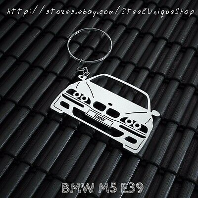 BMW M5 E39 Stainless Steel Keychain