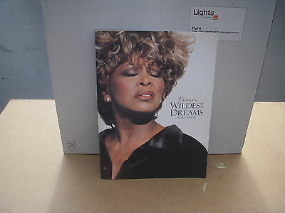tina turner wildest dreams tour concert brochure
