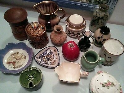 Vintage pottery porcelain Job Lot