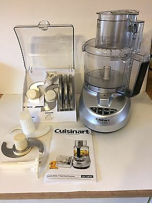 Cuisinart 11 Cup Food Processor Model CFP-11BCPC with accessories