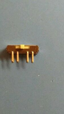 Miniature PCB mounting slide switch, 3 position (6 pieces)