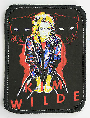 KIM WILDE 'Panthers' Vintage Printed Patch