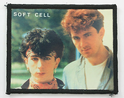 SOFT CELL 'Group' Vintage Photo Patch MARC ALMOND