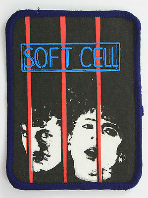 SOFT CELL Vintage Printed Patch * MARC ALMOND *