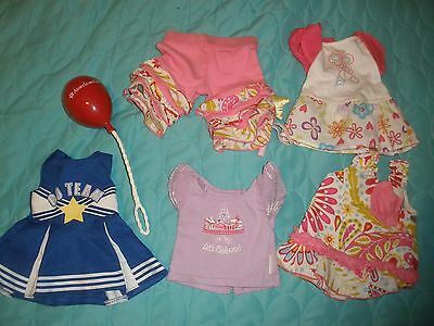 Lot of 6 pcs American Girl Dollie & me Cheerleading Balloon. Go Team Ann lauren