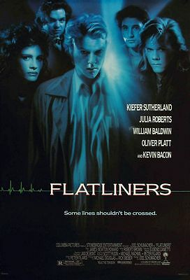 Flatliners US One Sheet Poster 1990 (Directed by Joel Schumacher)