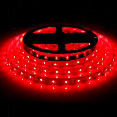 Red 5M 300Leds SMD 3528 Flexible Led Strip Light Roll For DIY Non-Waterproof