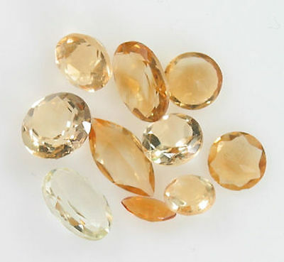 Assorted Cut Oval, Marquise, Round Citrine 4.70 Carats