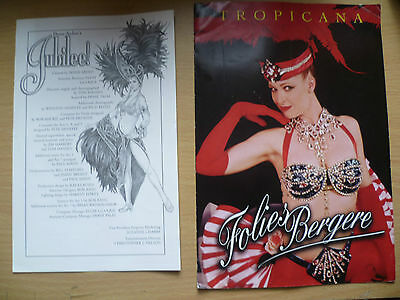 TROPICANA- Folies Bergere,DINING & Bally's Proudly Present Donn Arden's JUBILEE!