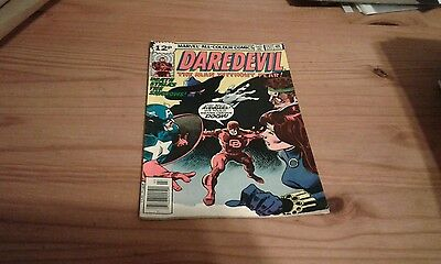 DAREDEVIL #157  The Avengers Black Widow  Marvel Comics 1979  VF