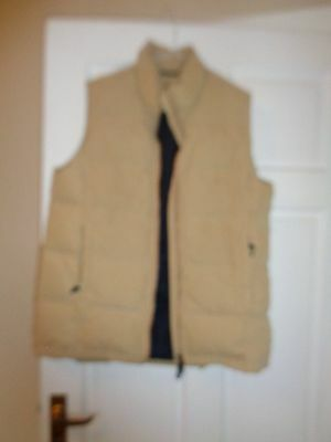 Musto Performance Down and Feather Bodywarmer gilet size 14