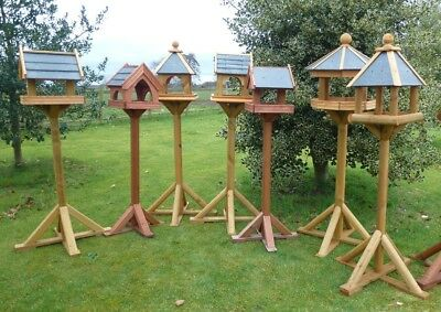 Slate Roof Bird Table *Wide range of styles* Strong and Sturdy, superb quality!