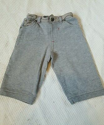 Baby boys TED BAKER grey joggers trousers 9-12 months