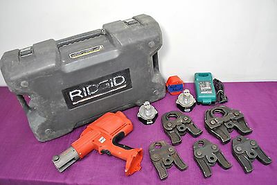 Ridgid Propress 320e Cordless Pressing Crimper Set w/ Jaws Plumbing Tool