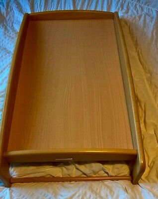 Mamas And Papas Wooden Cot Top Changer. Excellent Condition