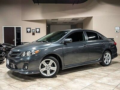 2013 Toyota Corolla  2013 Toyota Corolla S Sedan 5-Speed Manual Power Sunroof Premium PKG WOW