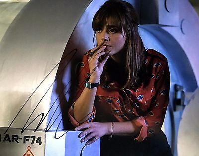 JENNA LOUISE COLEMAN Doctor Who Signed 10x8 Photograph - COA